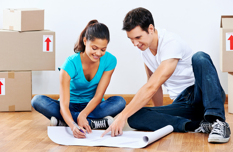 http://www.dreamstime.com/royalty-free-stock-photos-couple-making-plans-moving-new-home-looking-floor-together-image31890228